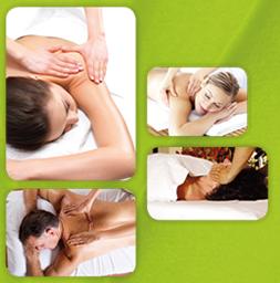 Massage du dos relaxant septembre