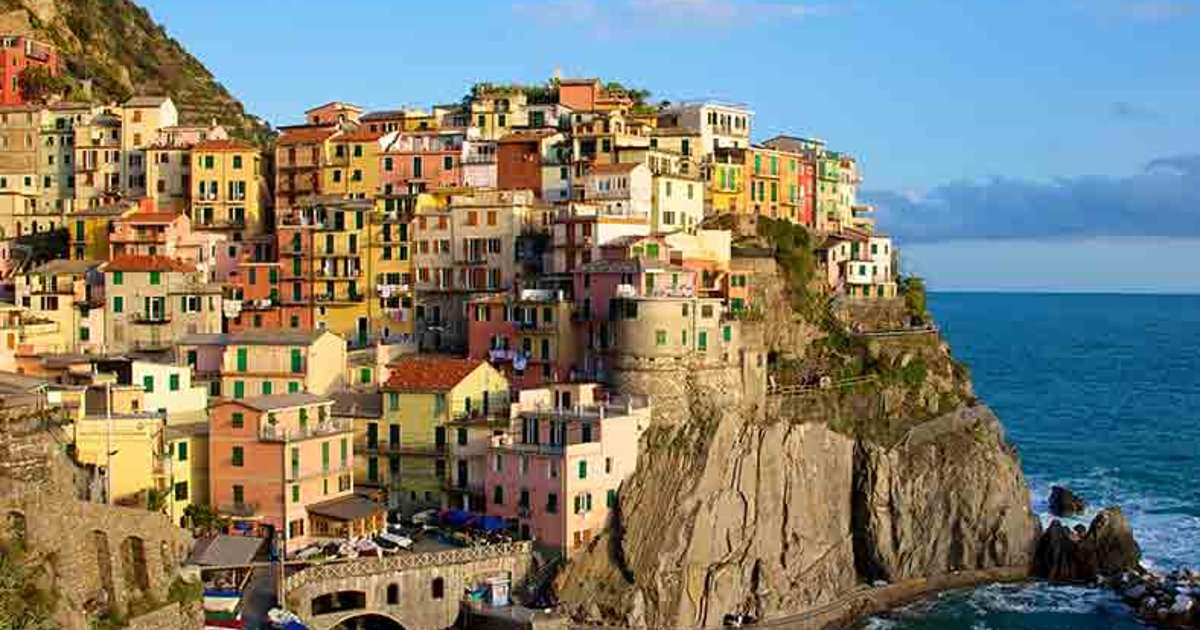 Voyage ce cinque terre italie ce illkirch alcatel for Hotels 5 terres italie