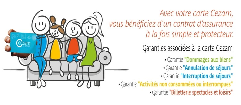 Carte Cezam Maif.La Carte Cezam Vous Offre Des Garanties Comite Social Et