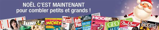 Offre Abonnement Magazines