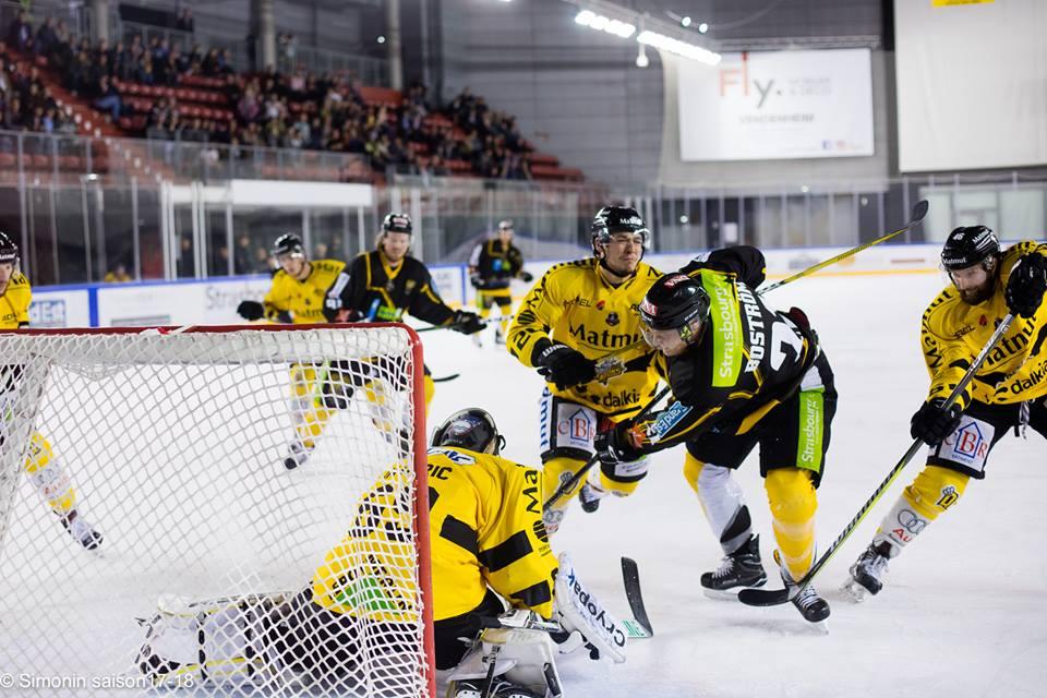 Hockey sur glace: Etoile Noire de Strasbourg – Rapaces de Gap